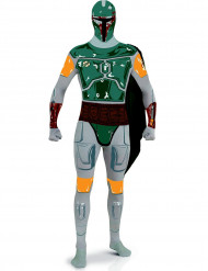 Disfarce adulto segunda pele Boba Fett - Star Wars™