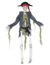 Decoração zumbi pirata 42 cm Halloween