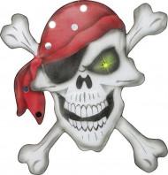Decoração pirata 49 x 49 cm