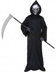 Disfarce segador das trevas macabro criança Halloween