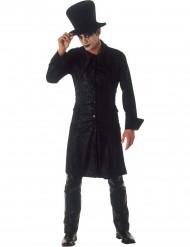 Disfarce de feiticeiro gótico homem Halloween
