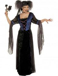 Disfarce princesa gótica mulher Halloween