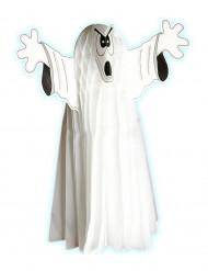 Decoração fantasma fosforescente 55 cm Halloween