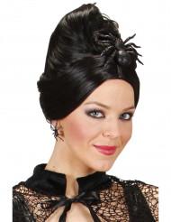 Gancho cabelo aranha brilhantes Halloween 10 cm