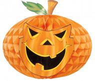 Decoração abóbora papel 30 cm Halloween