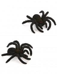 2 aranhas 10 cm Halloween