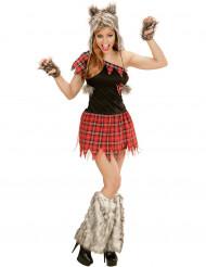 Disfarce Lobisomem mulher Halloween
