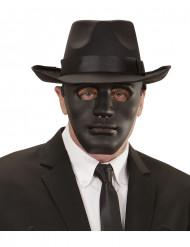 Máscara anonimo preto adulto