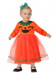 Disfarce abóbora bébé Halloween
