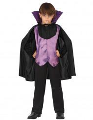 Disfarce vampiro menino para Halloween