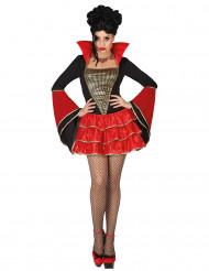 Disfarce vampira meulher Halloween
