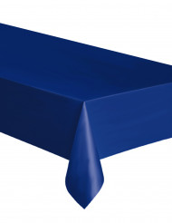 Toalha de plástico azul