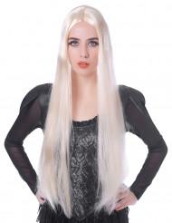 Peruca comprida loira mulher - 75 cm