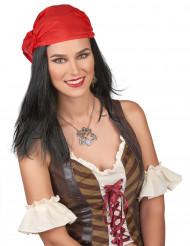 Peruca Pirata com bandana- Homem