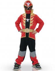 Disfarce clássico Power Rangers™ Super Mega Force vermelho