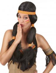 Peruca de India para mulher