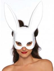 Máscara coelho branco