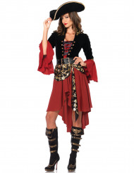Disfarce luxuoso de Pirata para mulher