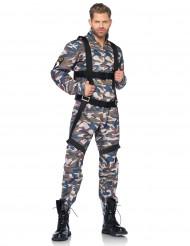 Disfarce de militar para homem