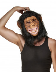Máscara de látex macaco adulto