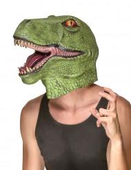 Máscara de dinossauro adulto