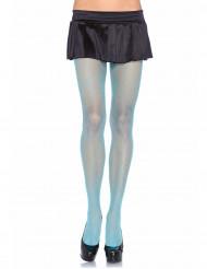 Meia calça azul mulher