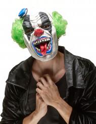 Máscara de látex palhaço adulto Halloween terrível