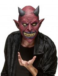Máscara de látex criatura diabólica adulto Halloween