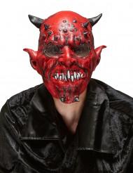 Máscara de látex demónio adulto Halloween