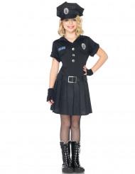 Disfarce de policia para menina