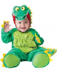 Disfarce Crocodilo para bébé - Luxo