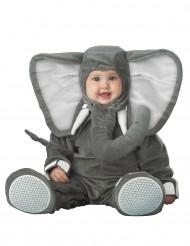 Disfarce elefante para bebé - Luxo