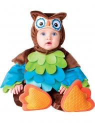 Disfarce coruja para bébé - Luxo