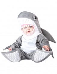 Disfarce Tubarão para bébé - Luxo