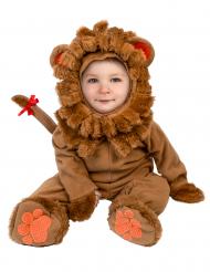 Disfarce Leão para bébé - Luxo