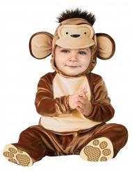 Disfarce macaco para bébé - Clássico
