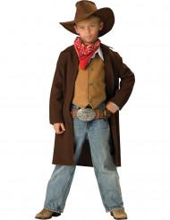 Disfarce Premium de Cowboy para criança