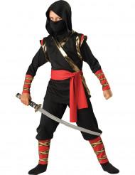 Disfarce Premium de Ninja para criança