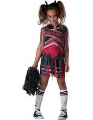 Disfarce pompom girl zumbi menina- Premium Halloween
