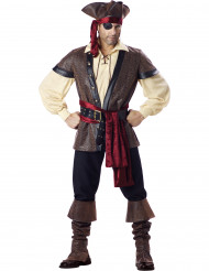 Disfarce Premium de Pirata homem