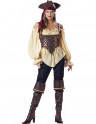 Disfarce Premium de Pirata mulher