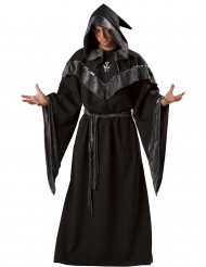 Disfarce Bruxo escuro homem - Premium