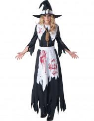 Disfarce Bruxa mulher - Premium Halloween