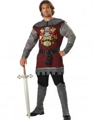 Disfarce Premium de Nobre Cavaleiro para homem