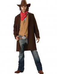 Disfarce Premium de cowboy para homem