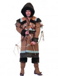 Disfarce esquimó homem