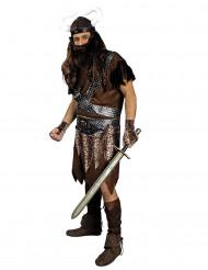 Disfarce guerreiro viking para homem
