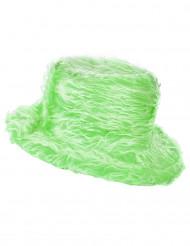 Chapéu pelúcia verde adulto