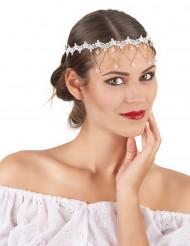 Bandolete branco mulher