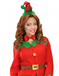 Kit Bandolete e laço elfo Natal
